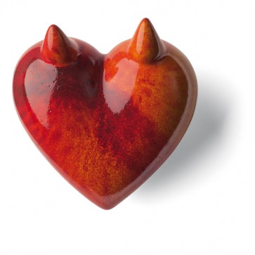 Porzellan Herz Satyr Denz
