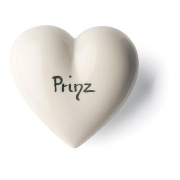 Porzellan Herz Prinz Denz