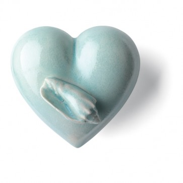 Porzellan Herz Ostrea Denz