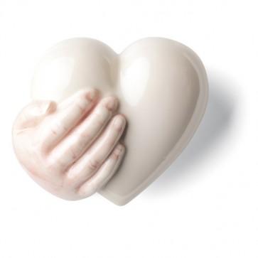 Porzellan Herz Rechte Denz