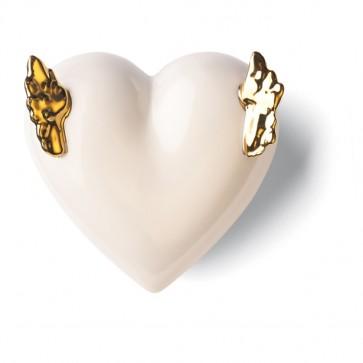 Porzellan Herz Geflügelt Denz