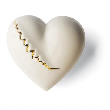 Porzellan Herz Goldader Denz