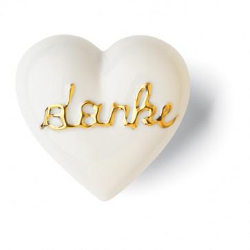 golddanke Porzellan Geschenk Denz Herz