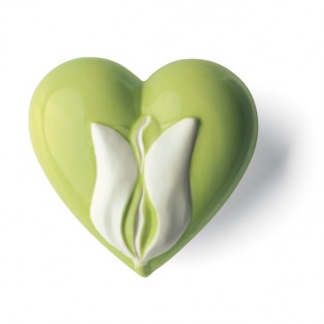 Keramik Herz Erwachen Denz