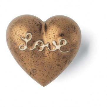 Porzellan Herz Heart of Gold Denz