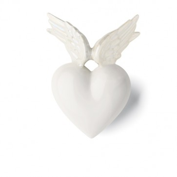 Porzellan Herz Phoenix Denz