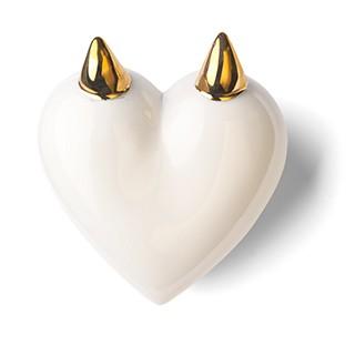 faun Porzellan Geschenk von Denz Herz