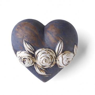 rosalila Porzellan Geschenk Denz Herz