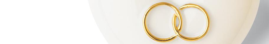 Geschenkideen zur Verlobung mit Porzellan Herzen von Denz Herz